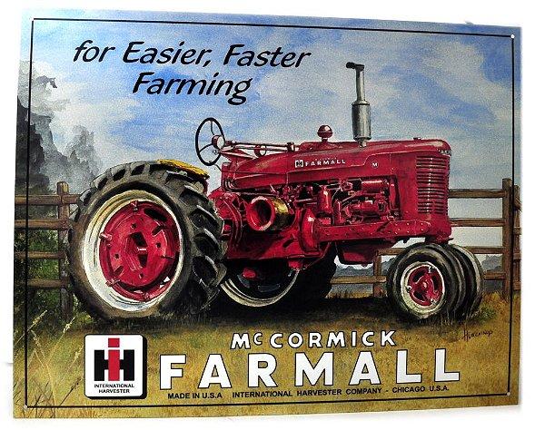 placa decoração for easier faster farming mc cormick