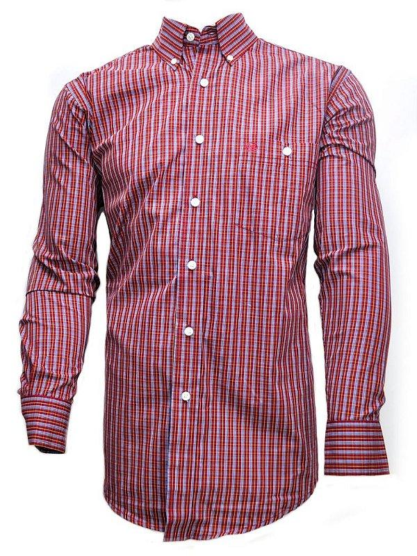 camisa masculina west classic wrangler 41mg2075m40
