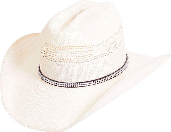 chapéu shantung bangora strass iii natural pralana 12832