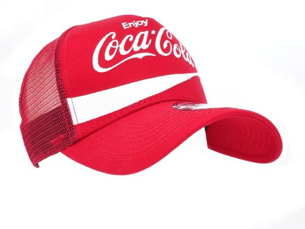 Boné Vermelho Tela Vermalha Coca-Cola - Zona Country - Moda Country ... 6dbe554678c