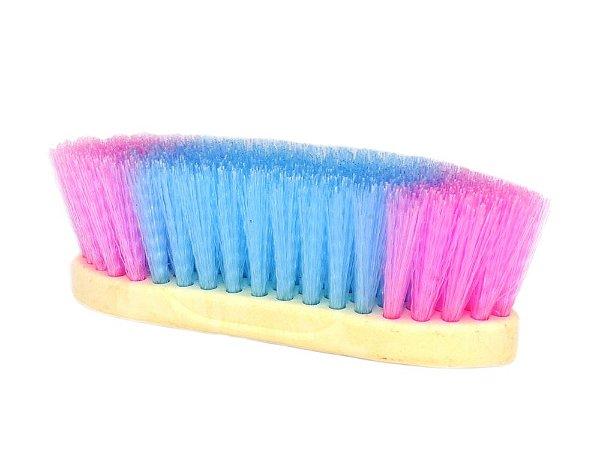 escova para cavalo azul e rosa randy - 246181