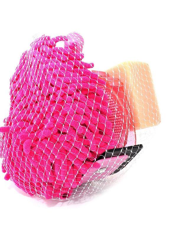 kit de banho para cavalo rosa - 244814