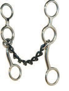 bridao jr cow horse chain gag bit level 3 partrade - 238311
