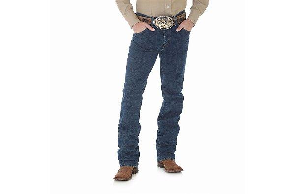 calça cowboy cut slim fit ad confort wrangler - 36macms