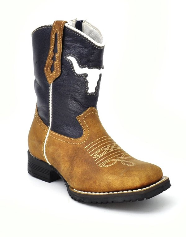 bota infantil west country long horn