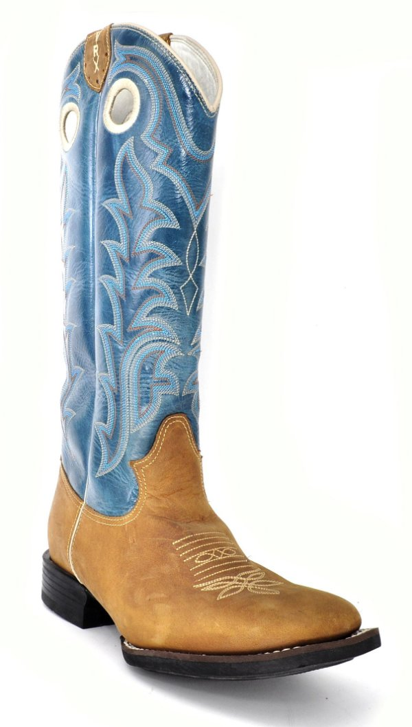 bota cano longo cano azul pé havana vimar - 84004