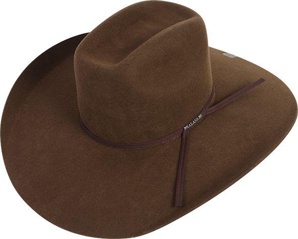chapéu pralana barretos cross aba 12 café - 12437