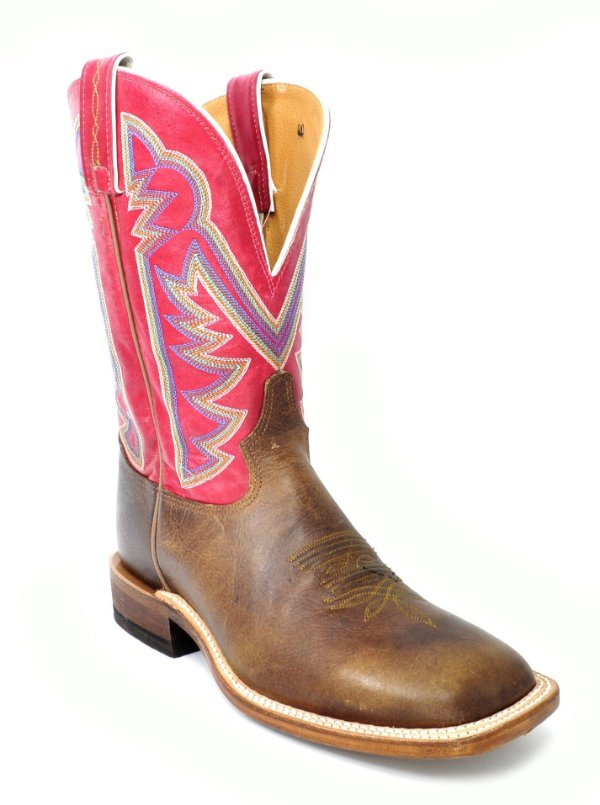 bota tony lama dylan red 7981