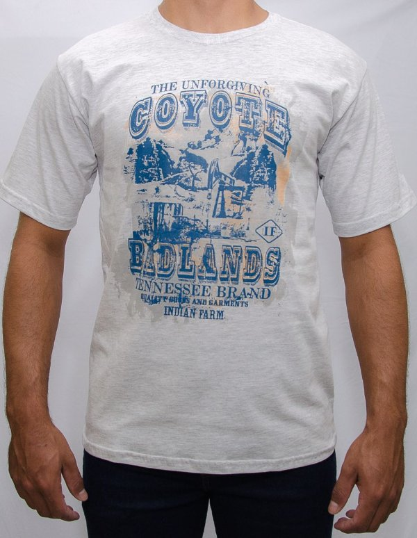 camiseta indian farm mescla coyote