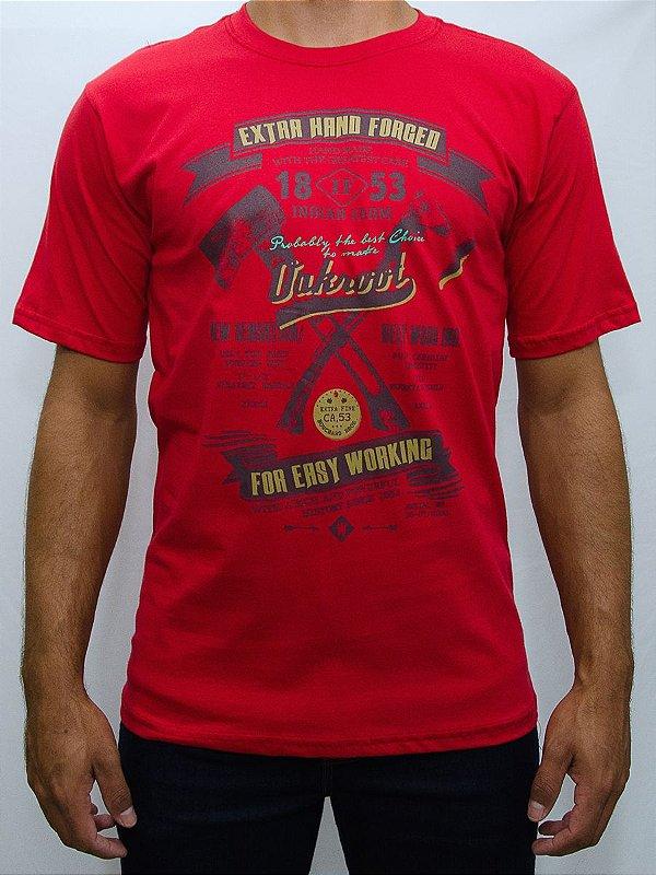 camiseta indian farm vermelha extra hand