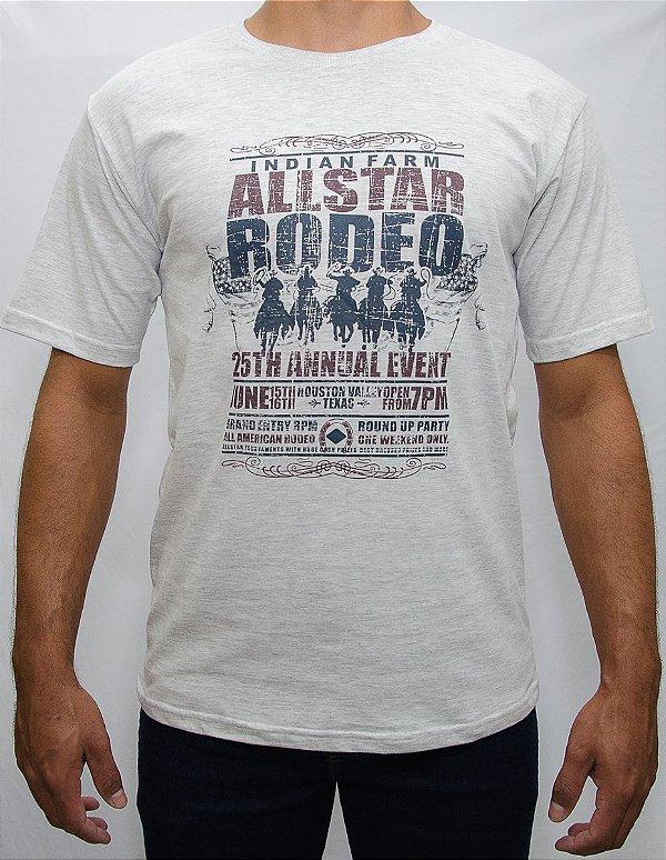 camiseta indian farm mescla allstar rodeo