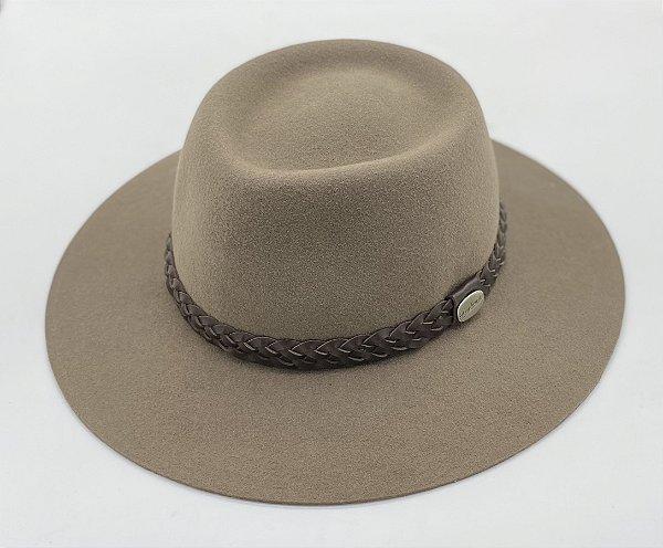 chapéu almir sater estradeiro feltro castor pralana  - 12310