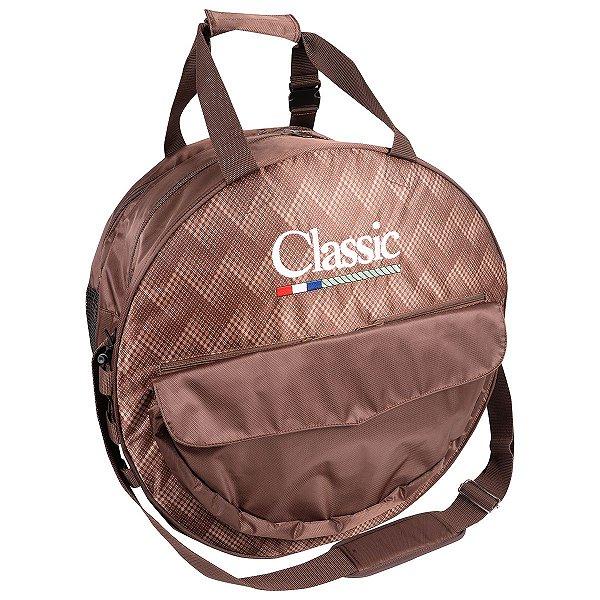 sacola bolsa classic de corda p/ laço imp. marrom