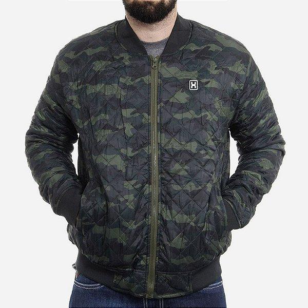 jaqueta txc importada camuflada verde - 7022