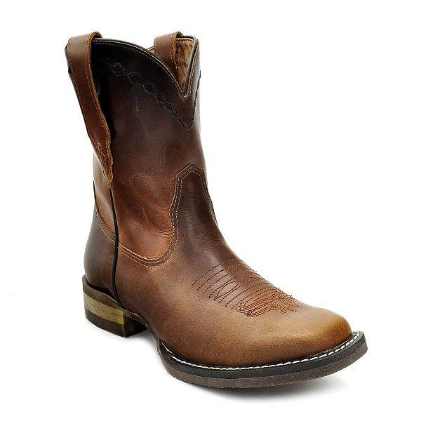 bota feminina curta pull up tam goyazes - 1832262cf