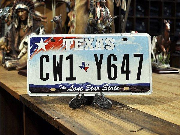 placa texas cw1 y647