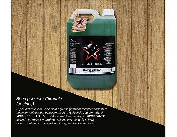 shampoo star horse citronela 5l 3120-5