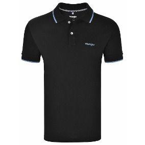 Camiseta polo Preto WM9001PR- Wrangler