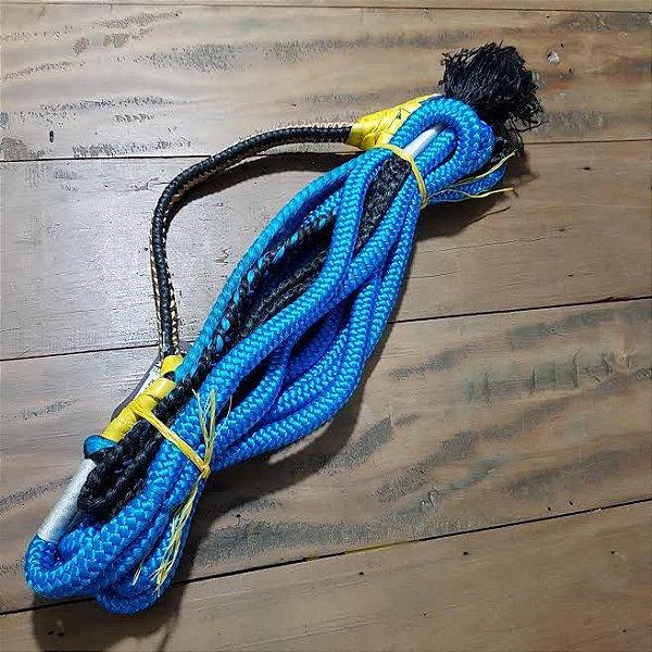 Corda de Montaria em Touros Azul - Mão Direita
