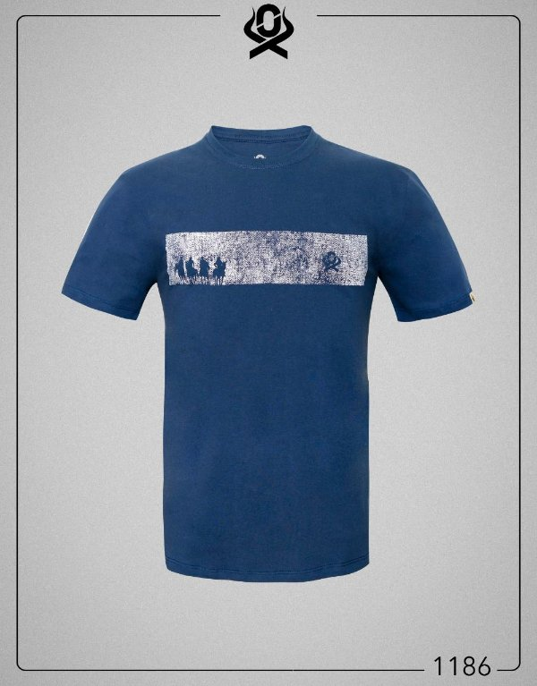 Camiseta Azul 1186 - Ox Horns