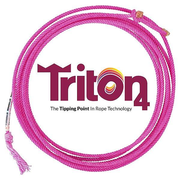 Corda de Laçar Triton 4 Tentos - Classic Rattler
