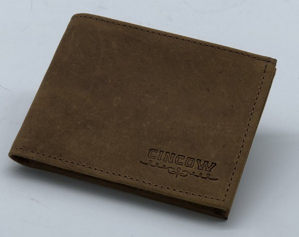 CARTEIRA CINCOW GRAXO/ MARROM 9182