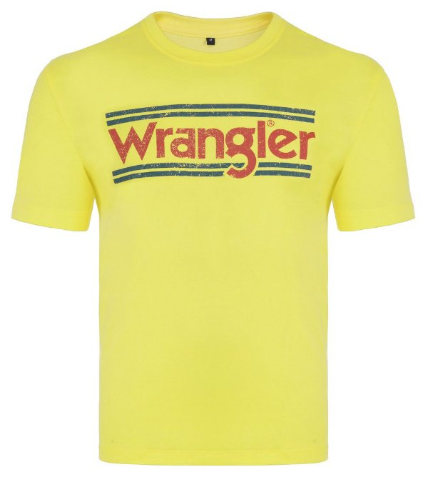 CAMISETA AMARELA WM58624AM - WRANGLER