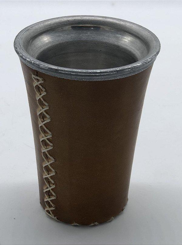 Copo de Aluminio Revestido Revest. Couro G Chimate
