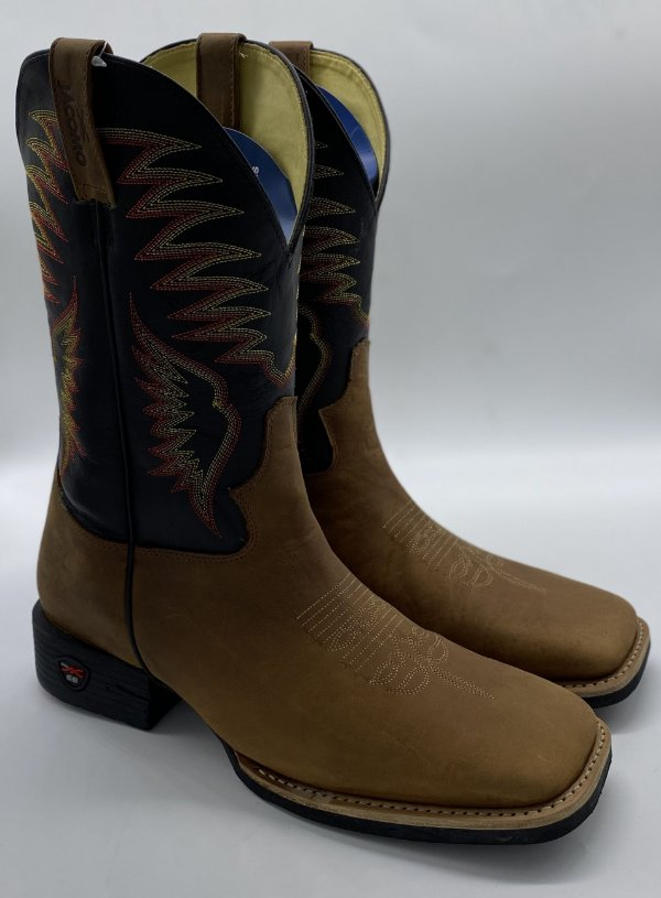 BOTA JACOMO CRAZY AMENDOA F. O. PRETO 2461 MG