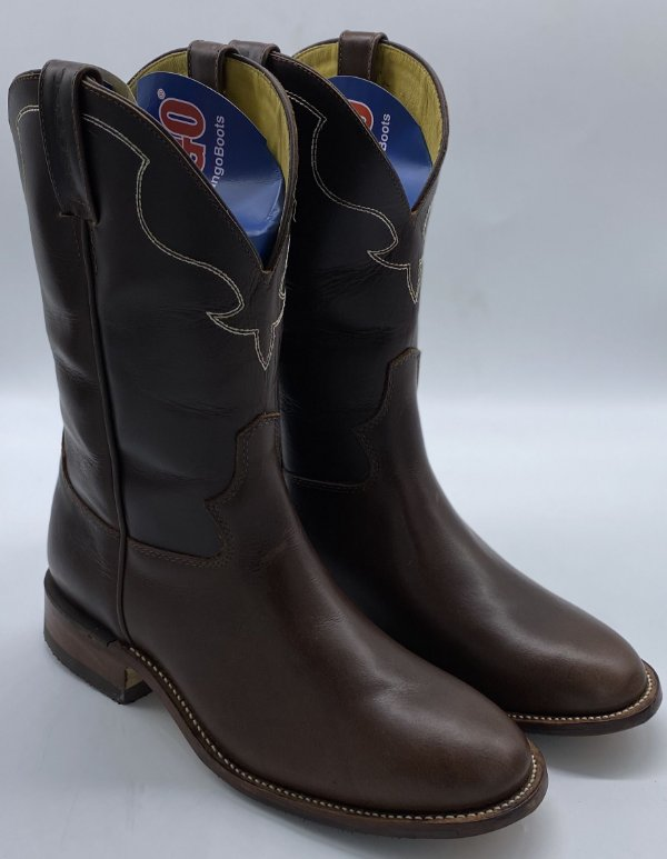 BOTA JACOMO PULL UP BROWN COM LATEX 5072 CLGV