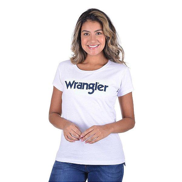 CAMISETA WRANGLER FEM WF8000BR