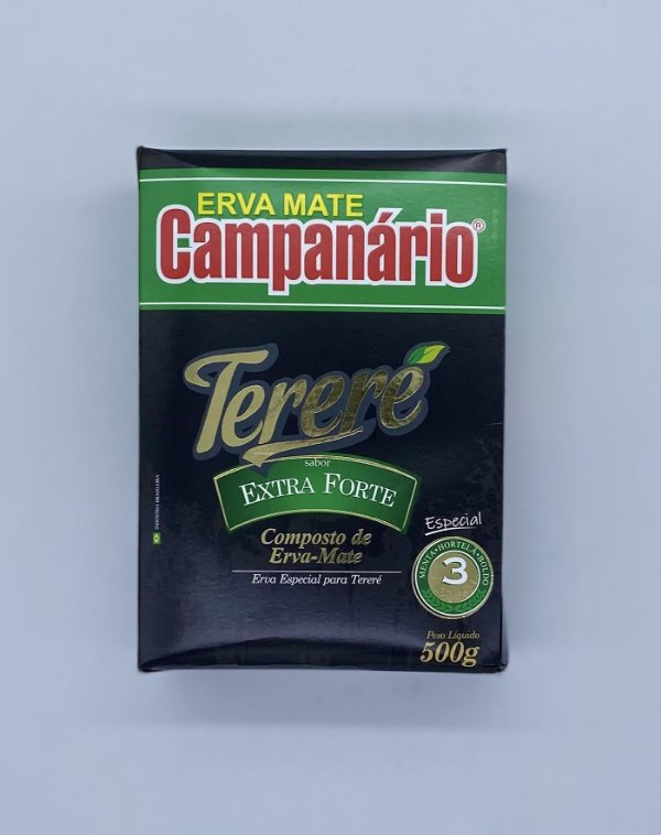 ERVA TERERÉ CAMPANARIO EXTRA FORTE 0,5KG