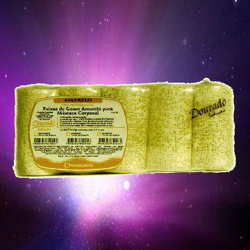 Gesso Redutor Amarelo 10cm -pct 10un