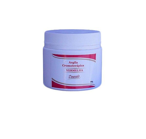 Argila Cromo Vermelha-Estrias-500g