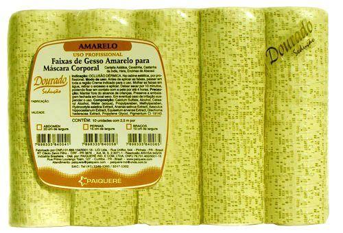 Gesso Redutor Amarelo 15cm
