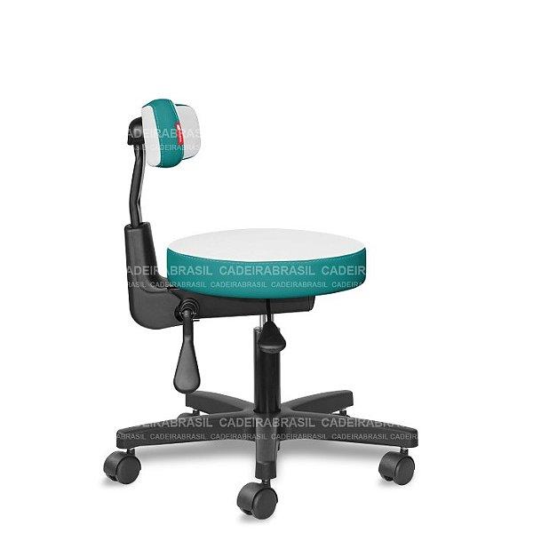 Mocho Ergonômico Estética, Fisioterapia, Odontologia Colors CB 1644 Cadeira Brasil