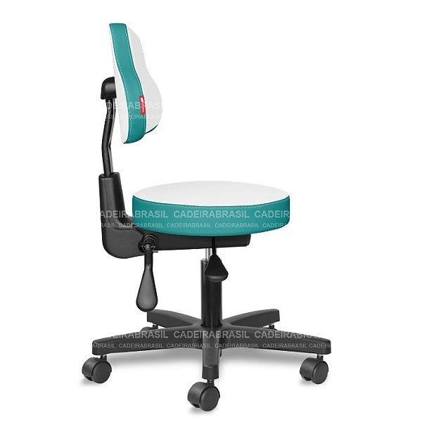 Mocho Ergonômico Estética, Fisioterapia, Odontologia Colors CB 1664 Cadeira Brasil