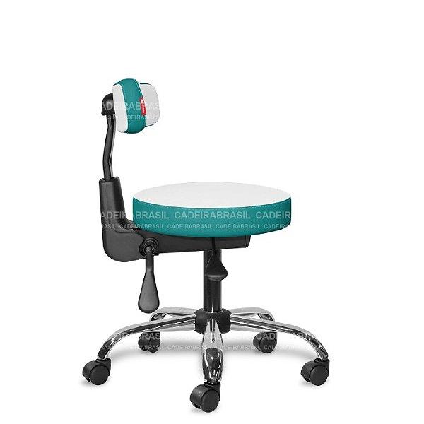 Mocho Ergonômico Estética, Fisioterapia, Odontologia Colors CB 1652 Cadeira Brasil