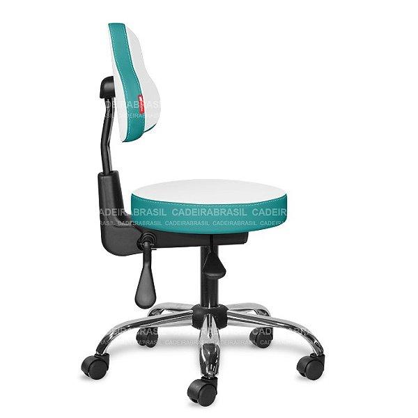 Mocho Ergonômico Estética, Fisioterapia, Odontologia Colors CB 1672 Cadeira Brasil