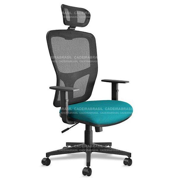 Cadeira Presidente Giratória Way WAP01 Cadeira Brasil