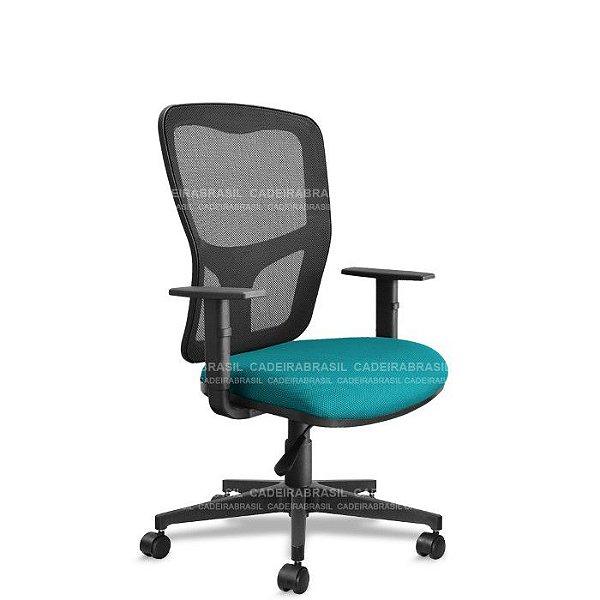 Cadeira Presidente Giratória Way WAP02 Cadeira Brasil