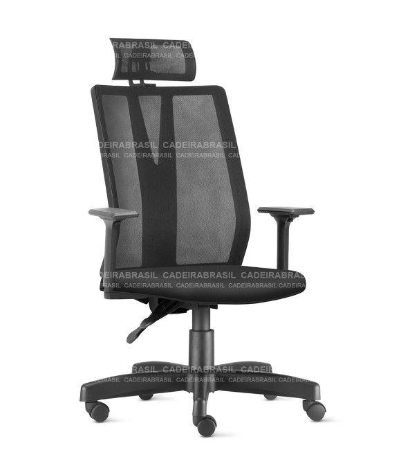Cadeira Presidente Giratória BOSS BOP01 Cadeira Brasil