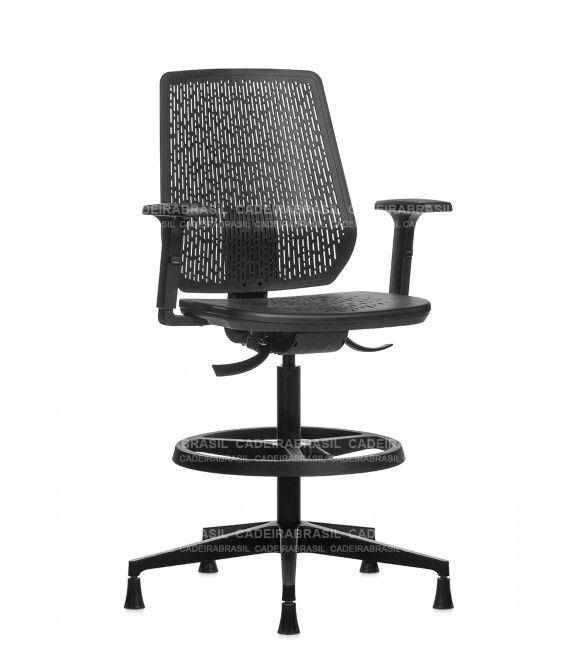 Cadeira Caixa Executiva Ergonômica Polax POE03 Cadeira Brasil