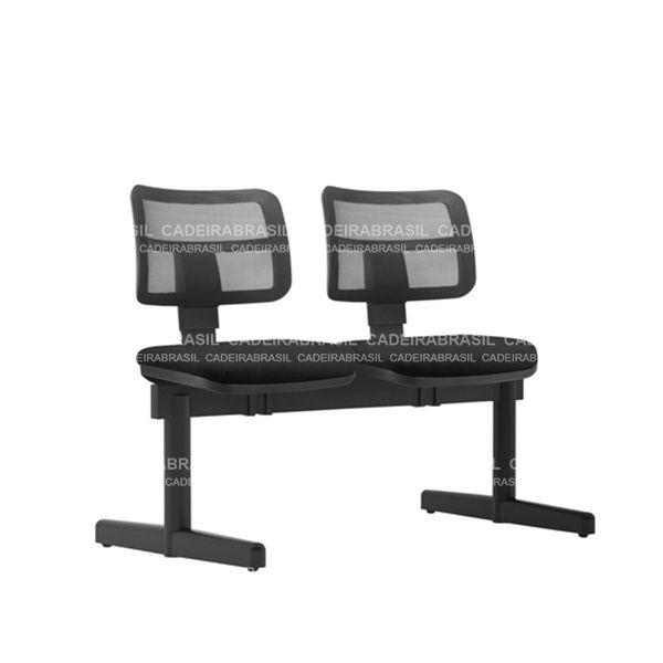 Longarina 2 Lugares Executiva Vezzi VEE13 Cadeira Brasil