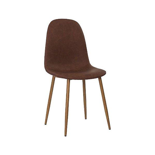 Cadeira Fixa Design Persian Couro Sintético Cadeira Brasil
