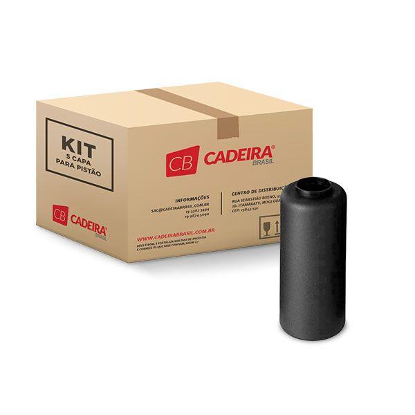 Kit com 5 Capa para Pistão Coluna Cônica T001K Cadeira Brasil