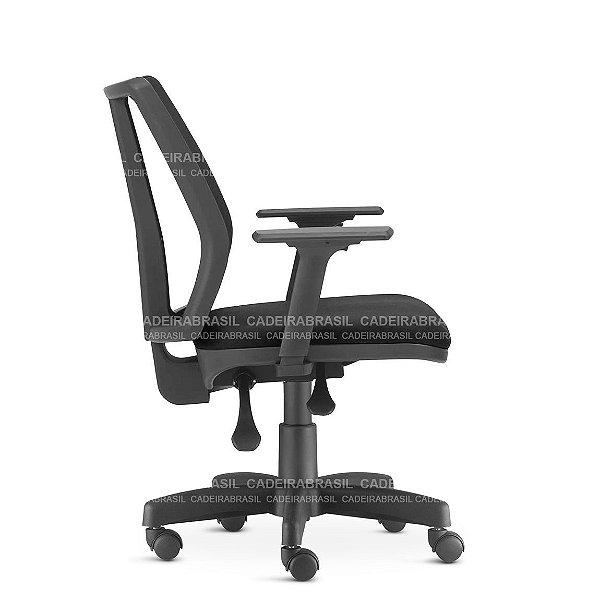 Cadeira Escritório Addit Diretor Ergonômica Giratória NR17 Frisokar