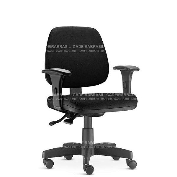 Cadeira Escritório Job Executiva Ergonômica Giratória NR17 Frisokar