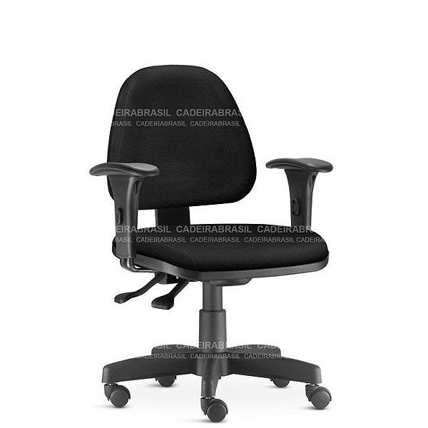 Cadeira Escritório Sky Executiva Ergonômica Giratória NR17 Frisokar