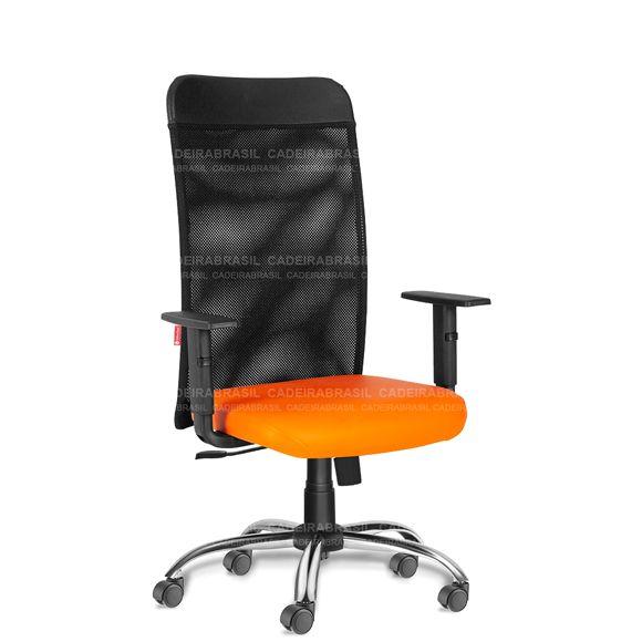 Cadeira Escritório Presidente Giratória Tela MNE52 Mensa